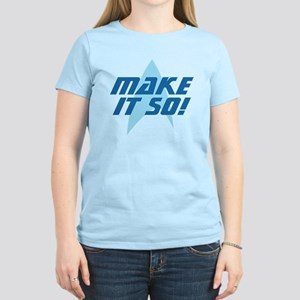 Star Trek: Make It So! Women's Light T-Shirt